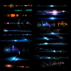 Collection of Optical Flares