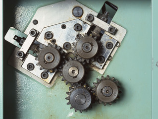 Gears cog wheels concept