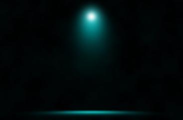 Spotlight blue design background.
