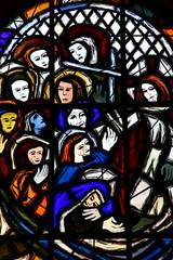 Charleval, France - september 7 2016 : Saint Denis church