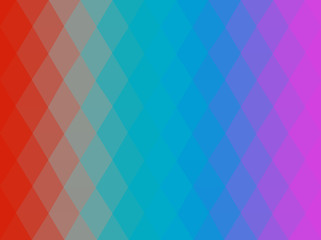 Multicolored low-poly background. Vector illustration.