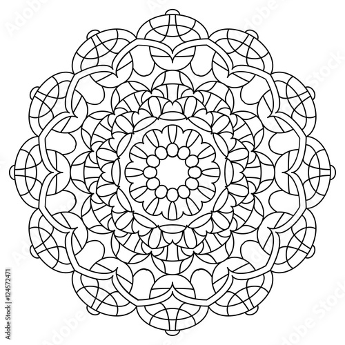 circle abstract coloring pages - photo#23