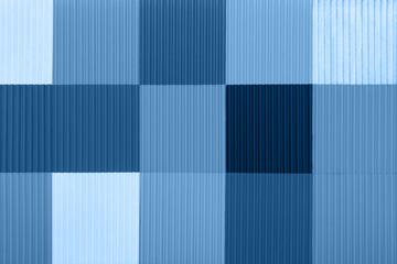 blue decorative colorful plastic panel