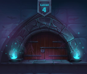 Magic door in the next 4th level