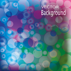 Background circles. banners Vector illustration.