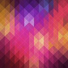 Abstract geometric background illustration. Spectrum retro  pattern