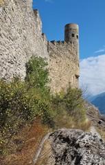 Schlossruine Tourbillon, Sion, Wallis