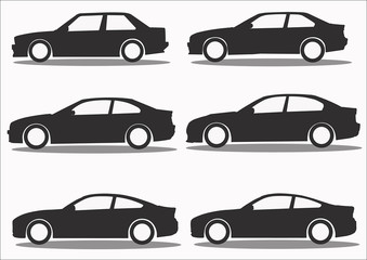 Car Icon collection vector set