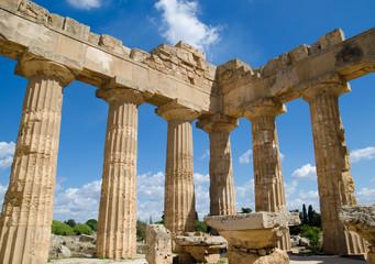 Selinunte-Temple d'Hera