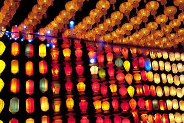 paper lantern shops in Chiangmai thailand