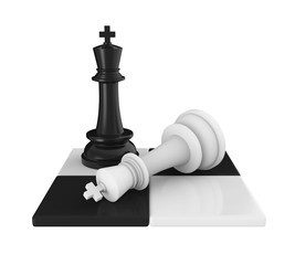 Chess King Pieces Checkmate
