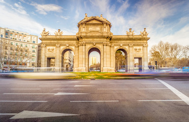 Fotomurales - The Alcala Door