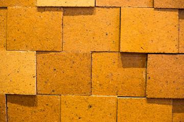 wall brick color, orange texture background