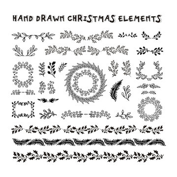 Vector Collection Hand Drawn design elements