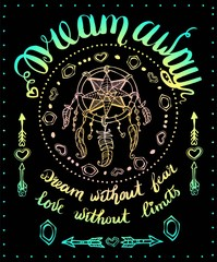 DREAM AWAY card