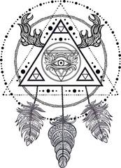 Blackwork tattoo flash.