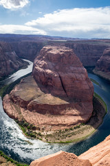 Horseshoe bend of the Colorado river