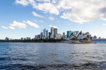 Crusing the Sydney Harbour