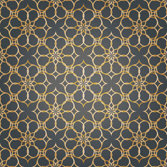 Abstract pattern illustration in arabian styleVector illustration