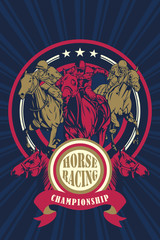 Horse Racing Championship Poster