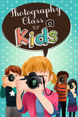Photography Class For Kids Poster