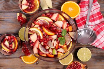 festive punch,fruit juice