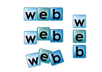 web scritta