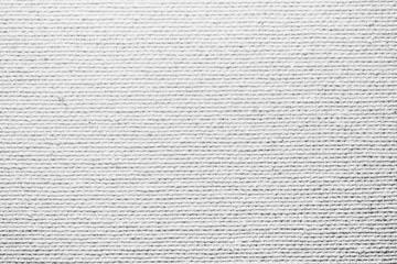 Fiber checkered gray closeup detail canvas texture.
