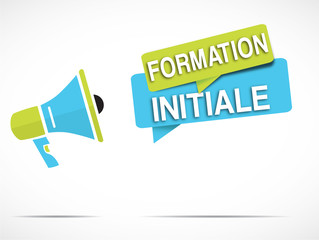 megaphone : formation initiale