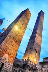 Wall Mural - Two towers in Bologna