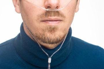 Nasal cannula man