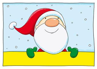 Ausmalbild Weihnachten Koloriert