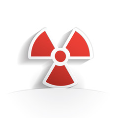radioactivity paper icon