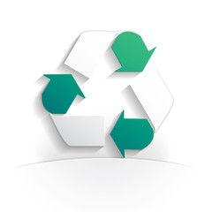 recycling paper icon