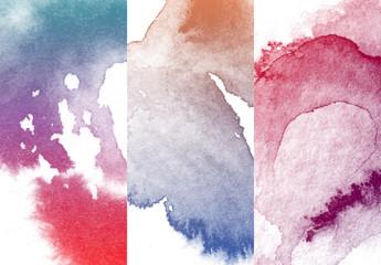 Textures d'aquarelle