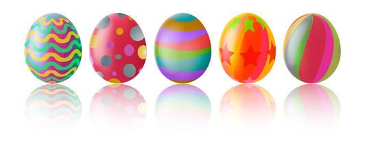 Easter eggs cartoon for you design