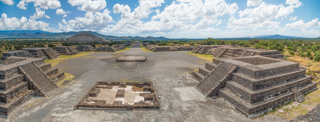 Teotihuacan Avenue of the Dead