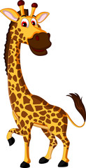 Cute giraffe cartoon for you design