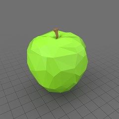 Apple Faceted Green