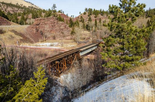 Railroad Tracks, Roads, and Scenery