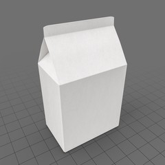 Food Carton Folded Small