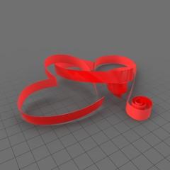 Ribbon Heart 3