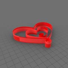 Ribbon Heart 4