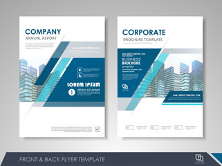 Brochures and flyers template design