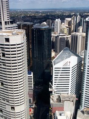 Tall towers in innercity