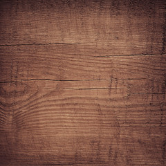 Brow wooden plank, tabletop, floor surface or chopping, cutting board.