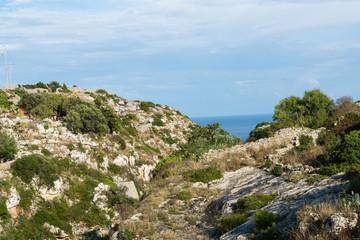 View of Ciolo. Puglia. Italy.