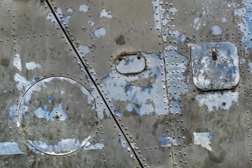 Tarnished military scrap metal, Siem Reap, Cambodia
