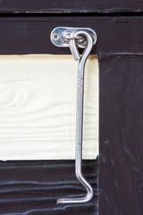 Stainless steel window hook,vintage style.