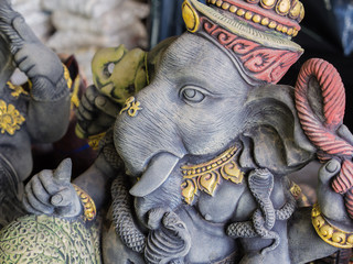 Ganesh Statues in Different Postures